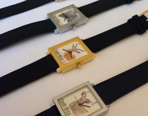Front custom made Stamp Watches